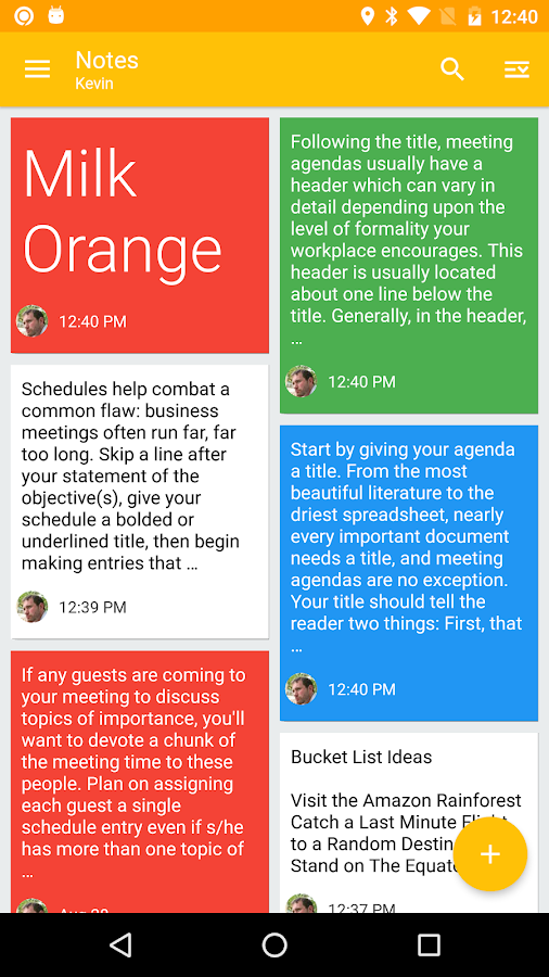 Nine - Outlook for Android- screenshot