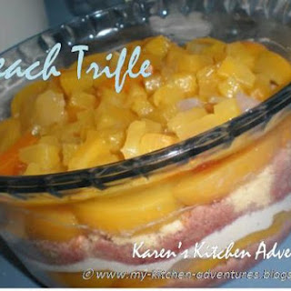Peach Trifle By Karen.