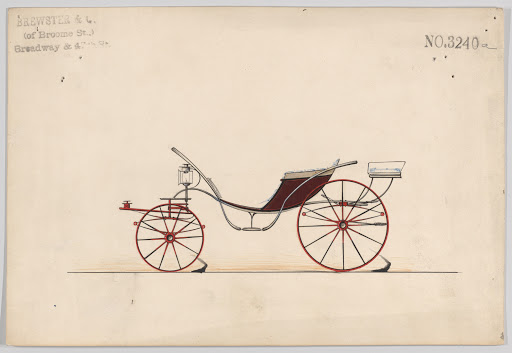 Design for Pony Phaeton, no. 3240a