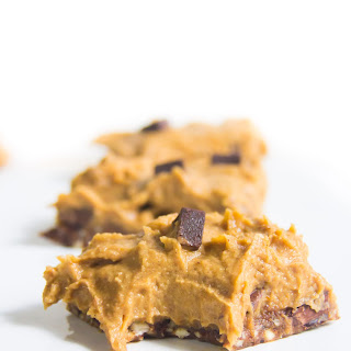 No-Bake Pumpkin Cookie Dough Bars