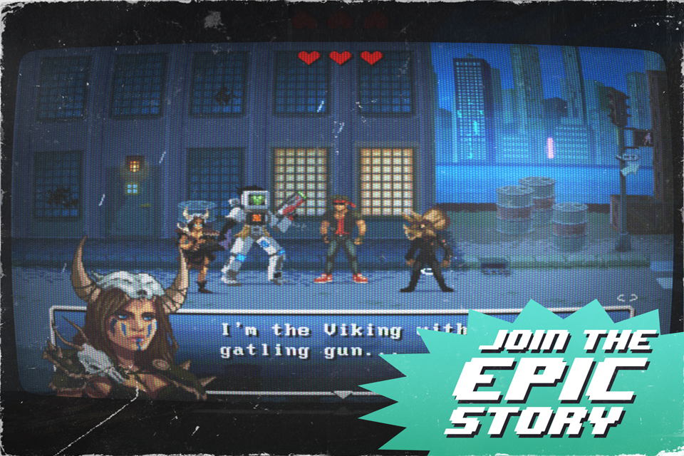 Kung Fury: Street Rage- screenshot