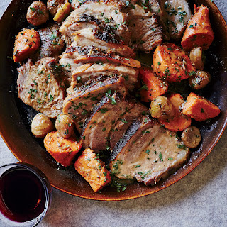 Wine-Braised Pork with Chestnuts and Sweet Potatoes