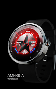 AMERICA - Watch face Screenshot