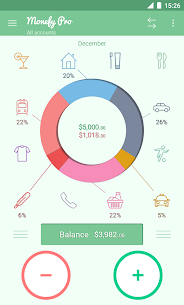Monefy Pro – Expense Manager V1.8.0 Mod APK 1