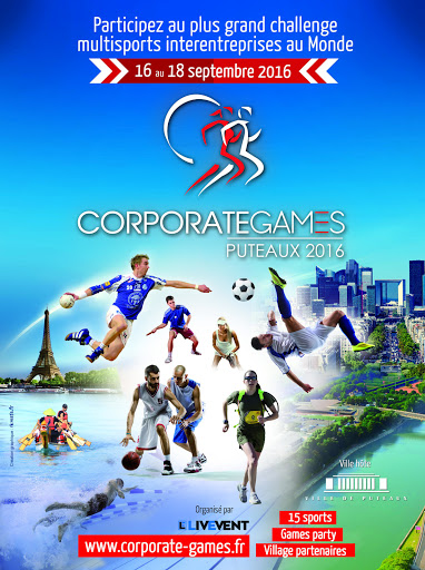 Visuel affiche Corporate Games Puteaux