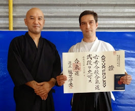 Photo: 2nd Dan in Aikido Aikikai Artur - Aikido instructor in Kherson dojo (Ukraine) http://nishiobudo.org.ua/en_dojo_kherson.html Member of Yufukan Japan Foundation (YJF) http://www.yufukan.com/