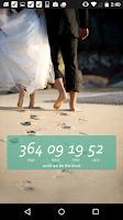 Screenshot of Wedding Countdown Widget