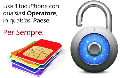 Come Sbloccare un iPhone Bloccato in Italia