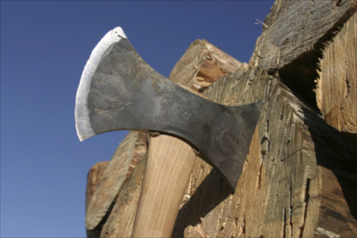 A file photo of an axe.