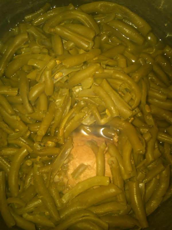 Fresh Green Beans ~ West Virginia Style Recipe