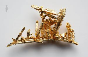 Золотые кристаллы