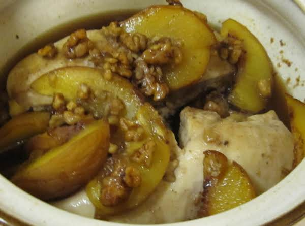 Kitty's Baked Chicken And Peaches Recipe