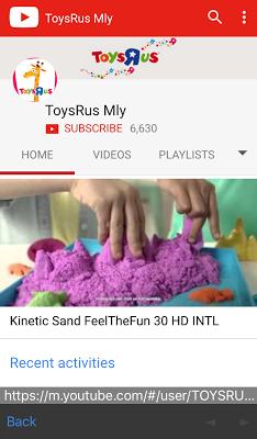 ToysRUs Malaysia - screenshot