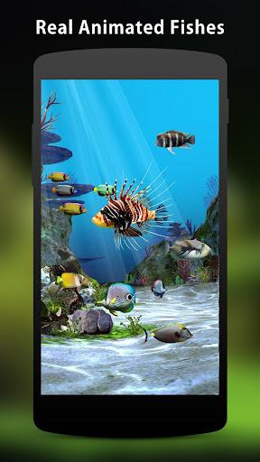 3D Aquarium Live Wallpaper HD 1.3.6 screenshots 3