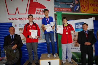 Photo: Mistrzostwa Polski LOK Tarnów (01.06) K. Jurasz (IIc) II miejsce w ppn 30 i III miejsce w psp 30.