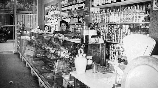 Las confiterías de la familia Sáez (1):  La Niza, el comienzo de la edad de oro