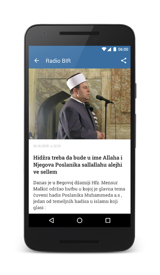 Radio BIR- screenshot