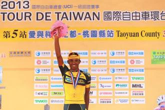 Photo: Tsgabu Grmay wins 5th stage on Tour Taiwan