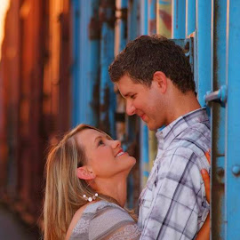 Engagement by Brenda Shoemake - People Couples