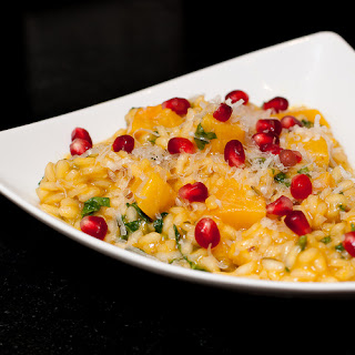 Bejeweled Pumpkin Risotto