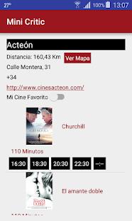 Minicritic es la aplicación de críticas de cine. Mod