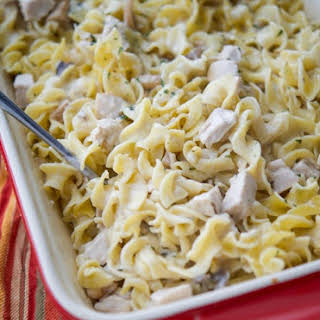 Turkey Casserole With Egg Noodles Recipes.