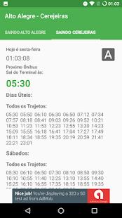 Bauru - Horario dos Ônibus - náhled