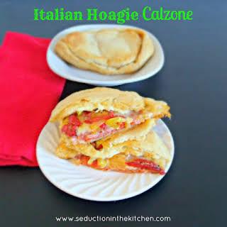 Italian Hoagie Calzone.