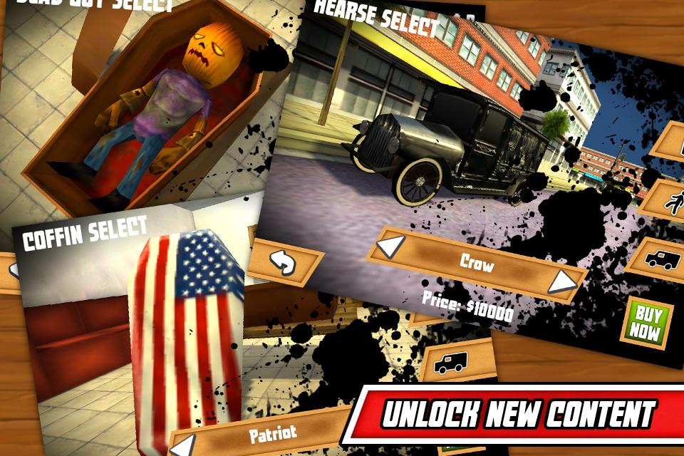 Hearse Driver 3D Game- screenshot