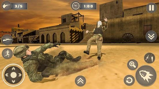 Ordu Cephe Hattı Görev Özel Kuvvetler Komandosu Ekran Görüntüsü