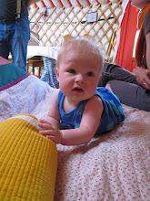 Photo: Yurt baby