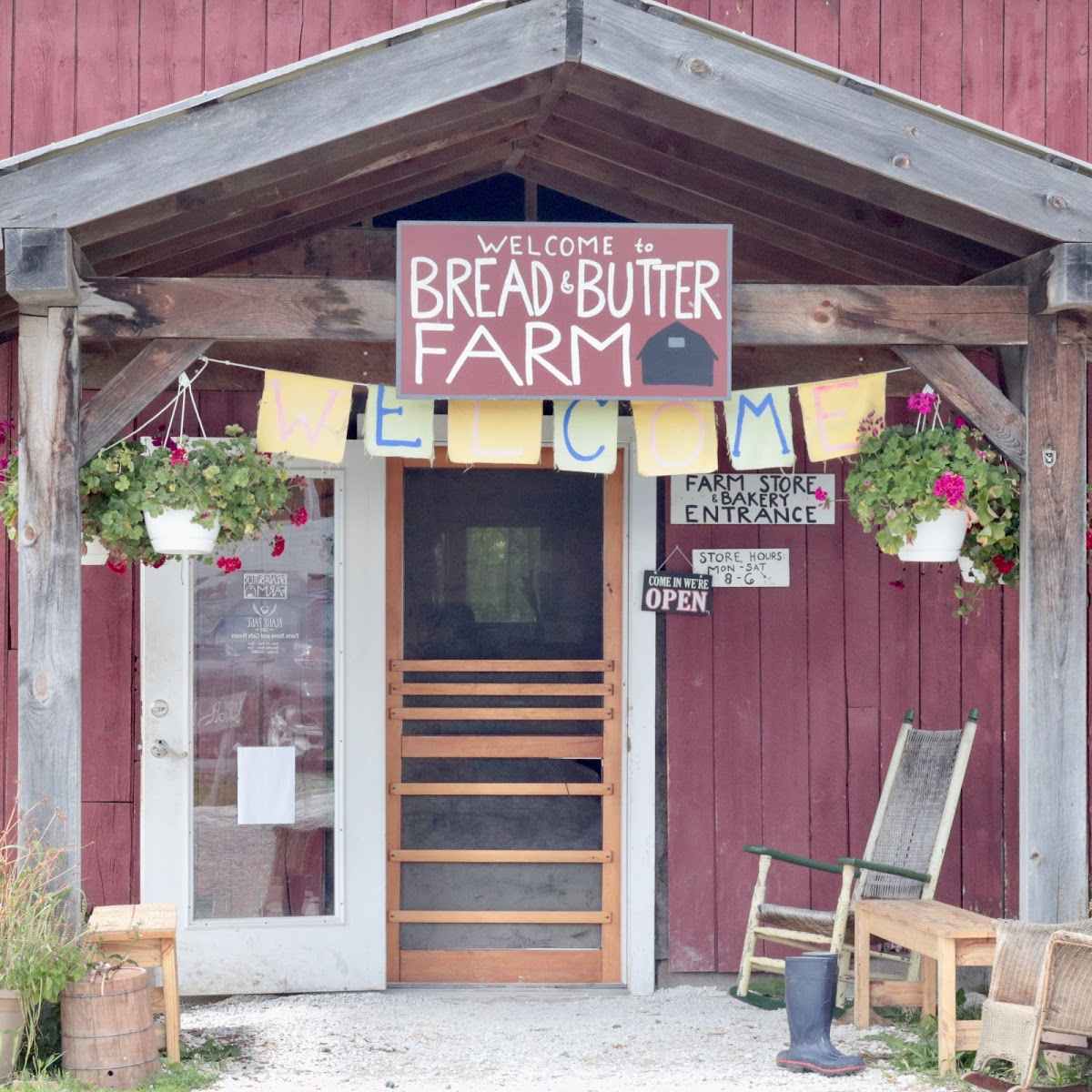 Gluten-Free at Blank Page Cafe @ Bread & Butter Farm