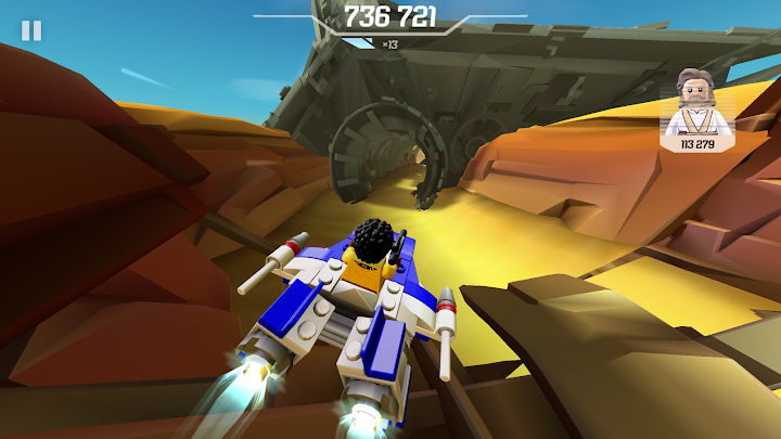 LEGO® Star Wars™ Microfighters Android App Screenshot