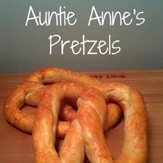 Copy Cat Recipe - Auntie Anne's Pretzels