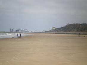 Photo: Norfolk Coast Path - From Wiveton to Cromer - Cromer Pier from the beach