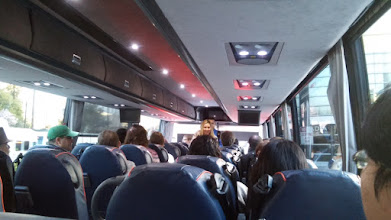 Photo: On the shuttle on my way to the Googleplex!