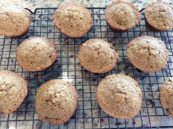 Made With Butternut Squash Purée & Replaced 1/2 C White Flour With 1/2 C Whole Wheat Flour.