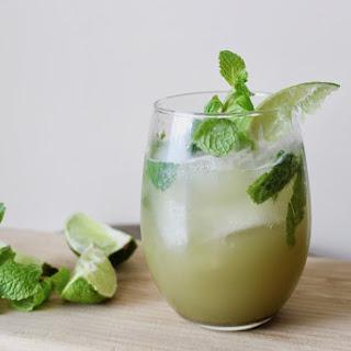 Matcha Green Tea Mojito.
