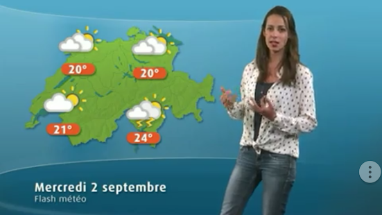 Weather for Switzerland - náhled