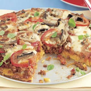 Polenta Pizza Supreme.