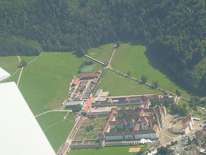 Photo: The Einsiedeln Abbey from the side http://www.swiss-flight.net