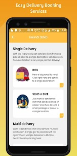 Hwindi – Book Taxi, Order Food & Delivery Services APK 4
