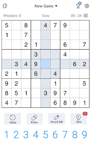 Sudoku - Free Classic Sudoku Puzzles screenshots 7