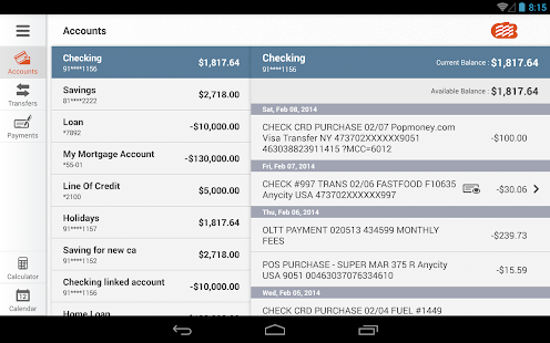EZ Banking for Tablet- screenshot thumbnail