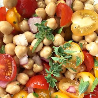 Garbanzo Tomato Salad