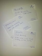 """Photo: Sofistikovaná metoda výběru jména (vlevo dole pořadí za leden 2013, vpravo dole celková četnost v ČR)... všechny tři jsou """"z druhé linie"""", abych se vyhnula diskusím, moje favoriti tady nejsou ;)"""