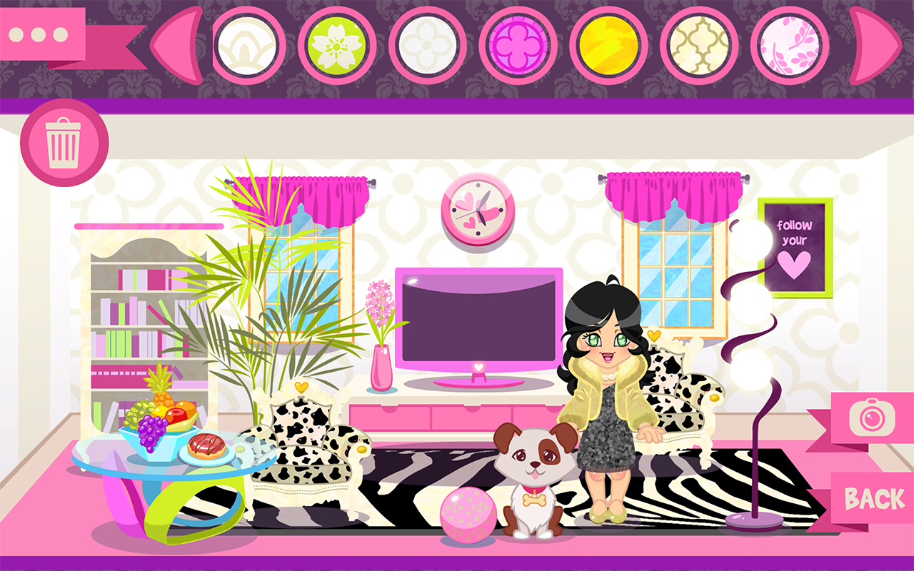 Lux home decorating room games android apps on google play Room makeover app