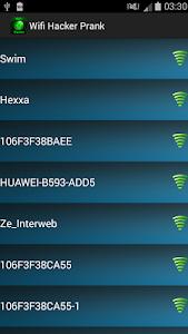 WiFi Password Hacker Prank screenshot 0