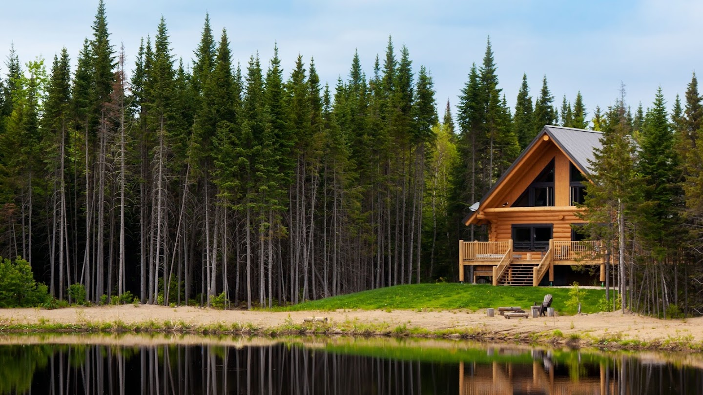 Watch Log Cabin Living live