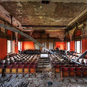 Classroom by Richard Huntjens - Buildings & Architecture Other Interior ( colour, classroom, detail, abandoned, decay )